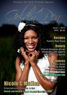 Golden Pen for Christian Women Magazine