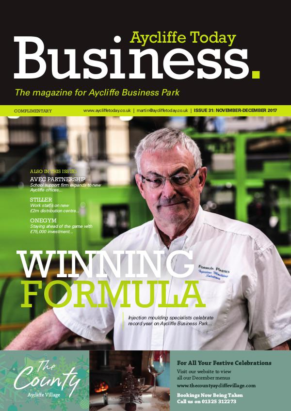 Aycliffe Today Business Issue 31
