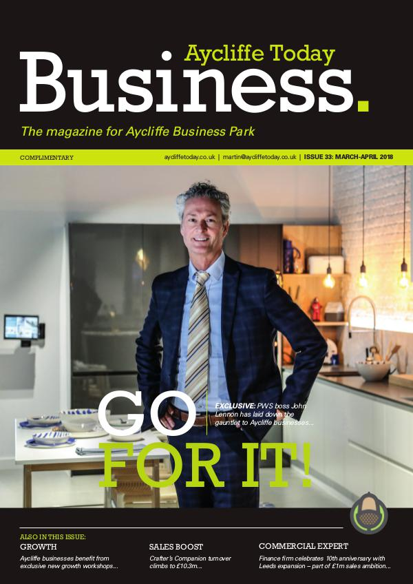 Aycliffe Today Business issue 33
