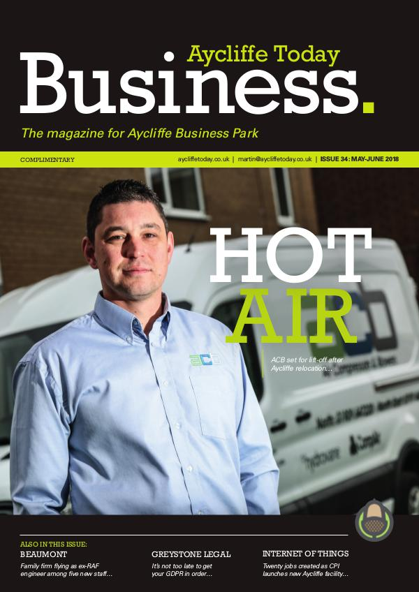 Aycliffe Today Business issue 34