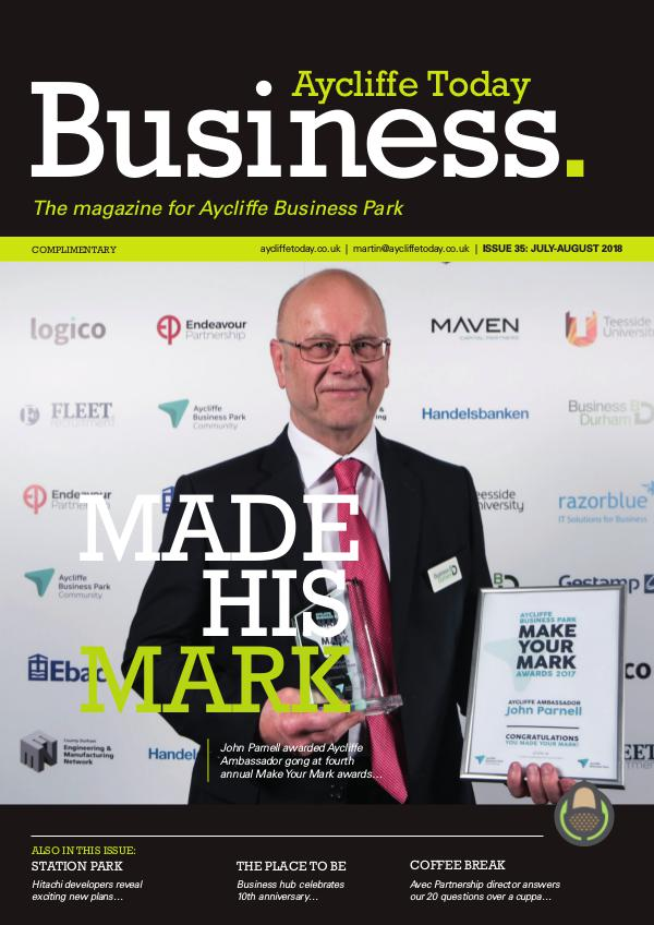 Aycliffe Today Business Aycliffe Today Business Issue 35