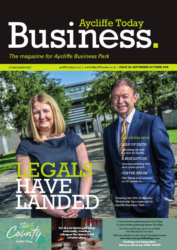 Aycliffe Today Business Issue 36
