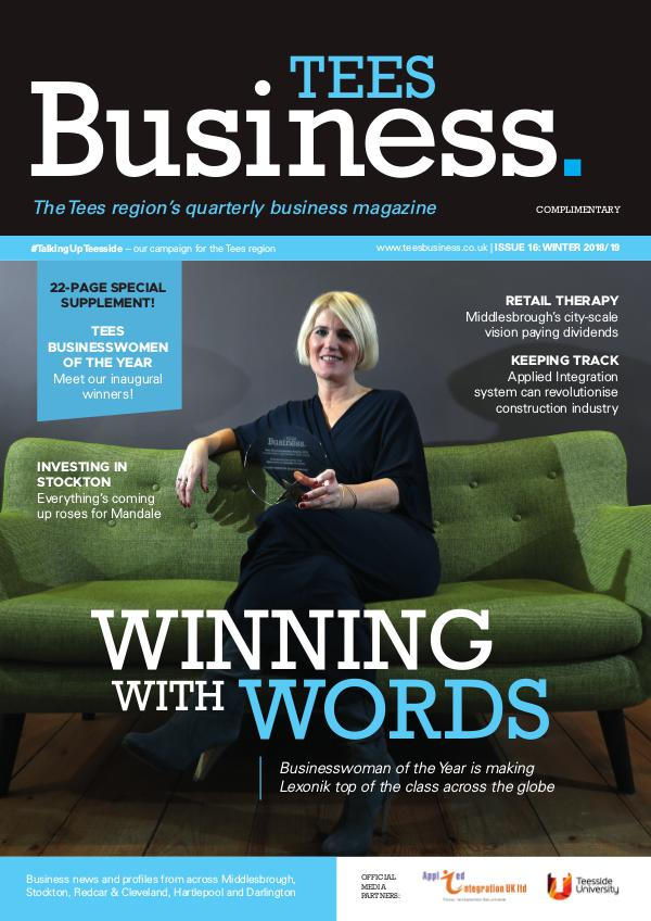 Tees Business Tees Business Issue 16