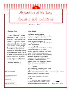 Argentina May 2013 Vol 6
