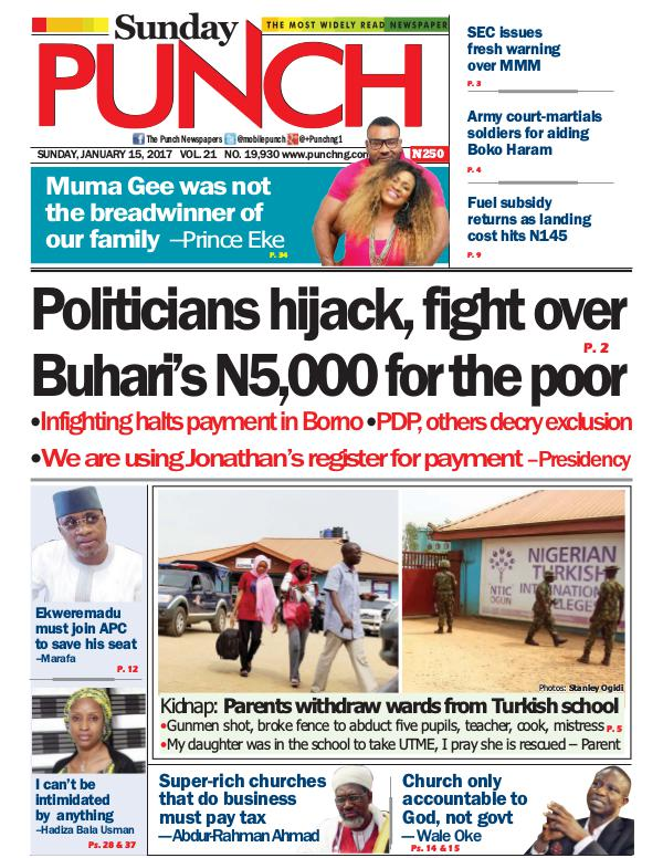 Epunchng - Most read newspaper in Nigeria Punch Newspapers, Most read newspapers in Nigeria.