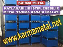 KARMA METAL metal tasima sevkiyat kasasi cesitleri imalati