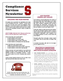 2014-2015 StanfordCS Newsletter