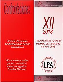 CONFRONTACIONES XII