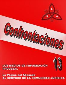 CONFRONTACIONES XIII
