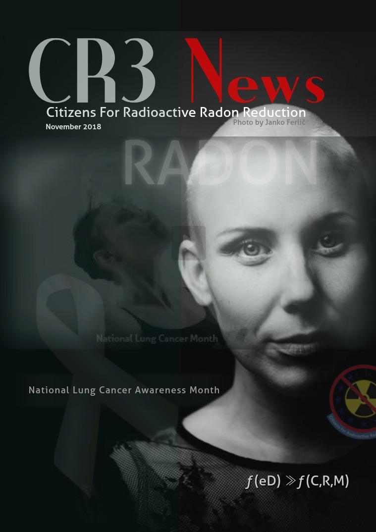 CR3 News Magazine 2018 VOL 5: NOVEMBER  National Lung Cancer Month