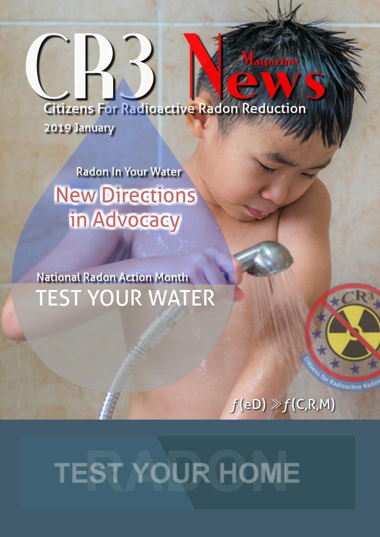 2019 January: National Radon Awareness Month