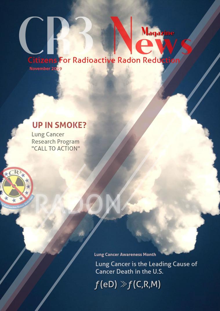 CR3 News Magazine 2019: November Issue - WHY Only $14 Million?
