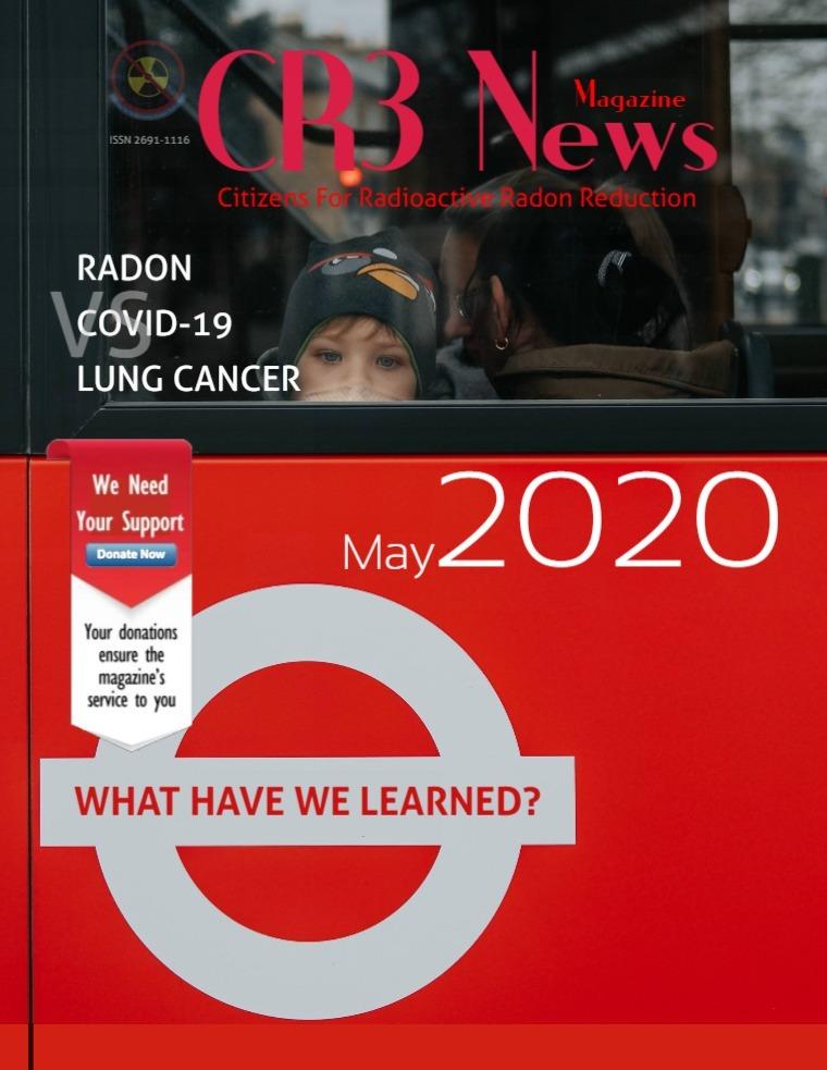 CR3 News Magazine 2020 VOL 3: MAY Medical - Radon vs Covid-19