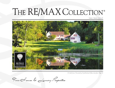 The RE/MAX Collection Magazine November 2013 Chuck Barbera and Alison Saunders