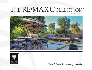 The RE/MAX Collection Magazine November 2013 Nate Martinez
