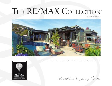 The RE/MAX Collection Magazine July 2013 Edition 3: Mark Miller