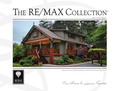 The RE/MAX Collection Magazine July 2013 Edition 2: Dave Procter