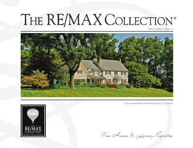 The RE/MAX Collection Magazine July 2013 Edition 11: Gil Lyons