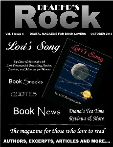READER'S ROCK LIFESTYLE MAGAZINE VOL 2 ISSUE 4 NOVEMBER 2014 Vol. 1 Issue 4 October 2013