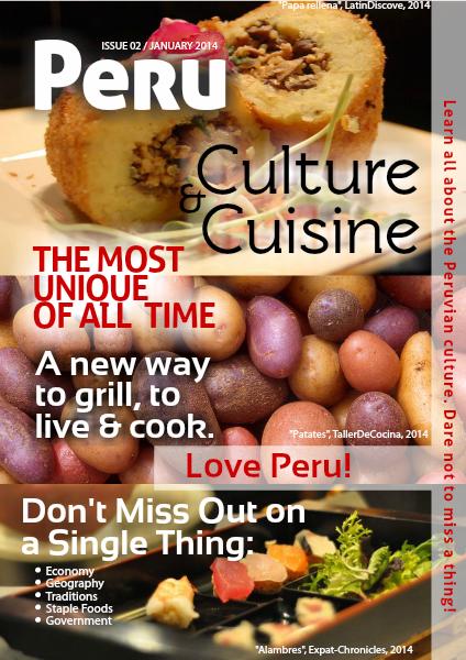 Peru: Cuisine and Culture I