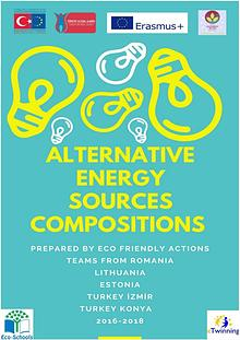 Eco Friendly Actions Alternative Energy Sources Compositions