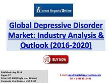 Global Analysis of Depressive Disorder Market Outlook 2020