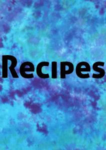 Healthy Life : Recipe Book Circa 2014