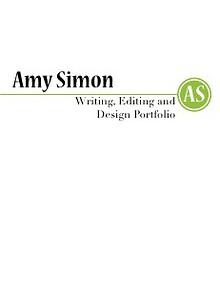 Amy Simon: Portfolio