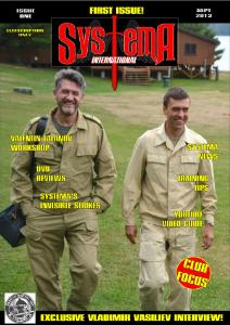 Systema International Issue One September 2013
