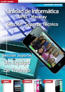 Seccion Soporte Tecnico revista nº1