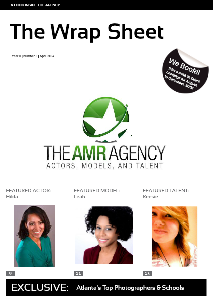 The AMR Agency: Talent Volume 1: Issue 3