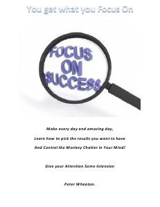 Focus On Success June 2013