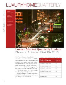 LUXURY HOME QUARTERLY - Phoenix, AZ USA