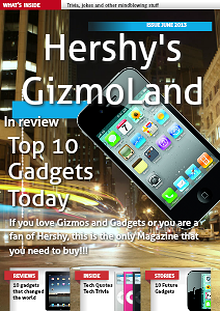 Hershy's Gizmoland Monthly