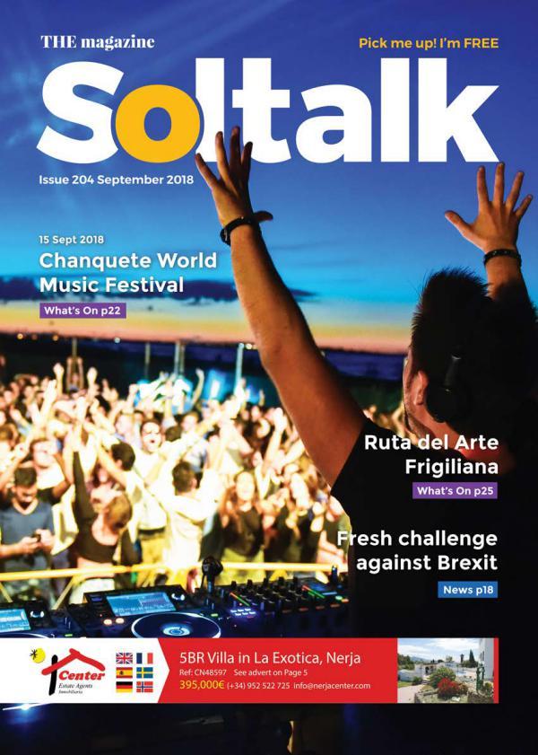Soltalk September 2018