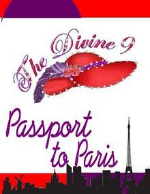 Divine 9 III~Passport to Paris
