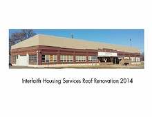 Interfaith Housing Roof Remodel 2014