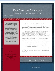 The Truth Anyhow June 2013