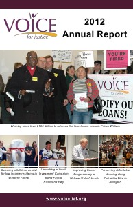 VOICE Annual Report 2013