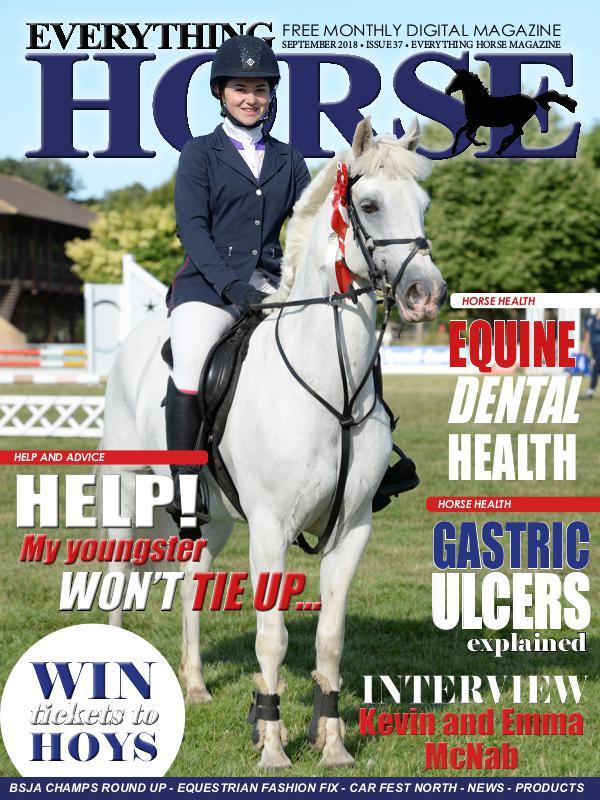 Everything Horse UK EVERYTHING HORSE MAGAZINE SEPTEMBER 2018 ISSUE 37