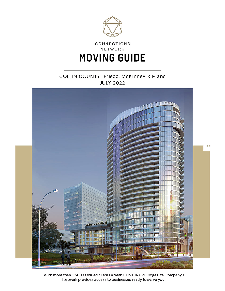 Connections Network Moving Guides 2018: Central Dallas County Collin County