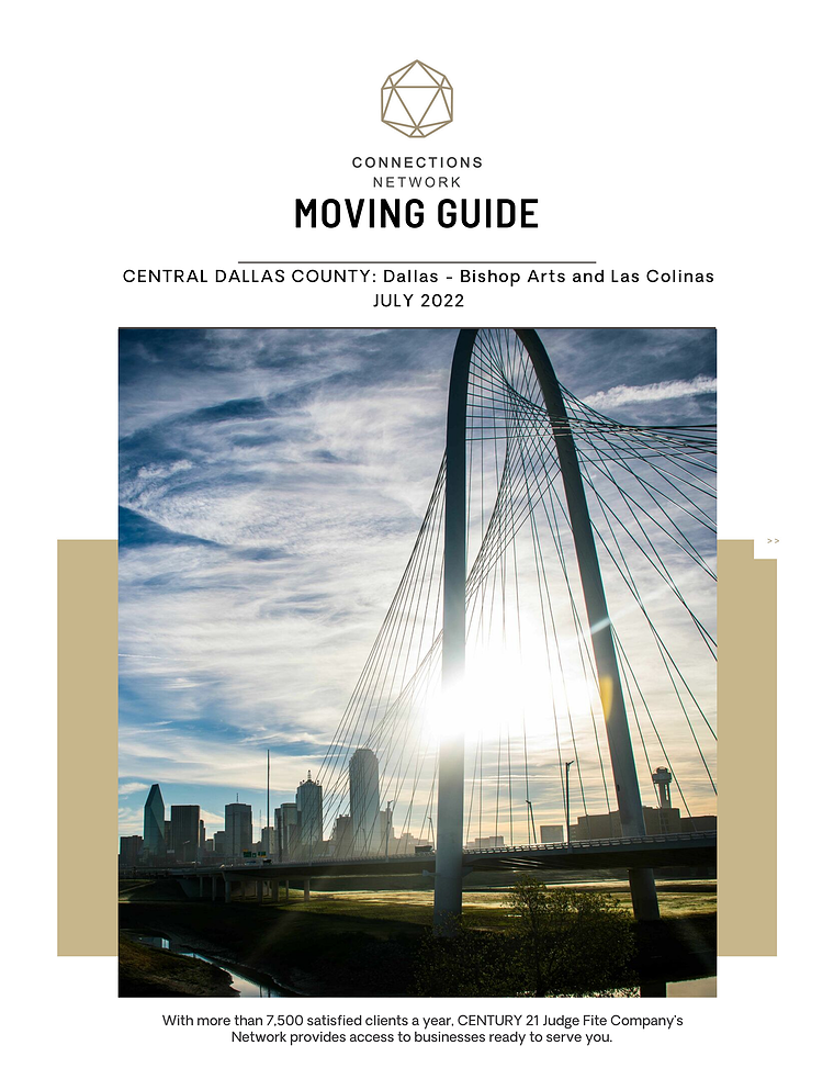 Connections Network Moving Guides 2018: Central Dallas County Central Dallas County