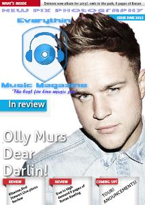 THE EVERYTHIN MUSIC MAGAZINE june 2013