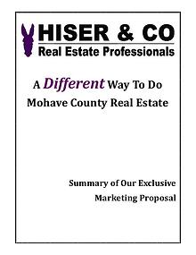 Hiser & Co Exclusive Marketing Plan