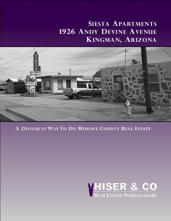 Life's Beaten Path - Clients Books that we do 1926 Andy Devine - Siesta Apts
