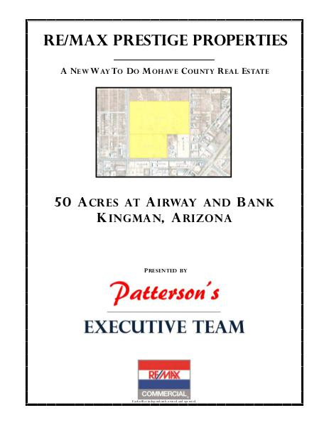 Mohave County Commercial Real Estate Airway and Bank