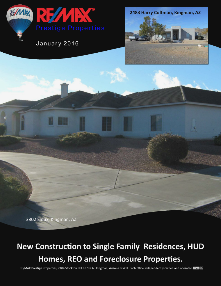 Mohave County Home Shopper January 2016