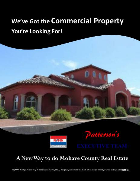 Mohave County Commercial Real Estate Commercial Real Estate