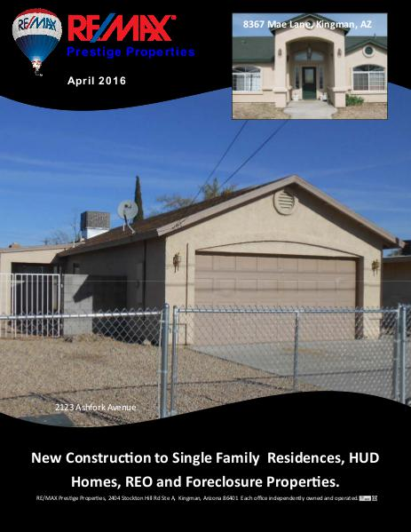 Mohave County Home Shopper April 2016