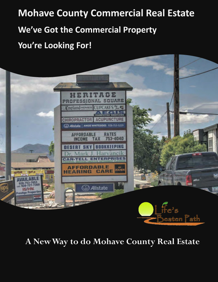 Mohave County Commercial Real Estate September 2016
